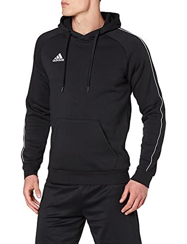 adidas Core18 Sweater Hoody à capuche Homme - Noir (black/white) - M