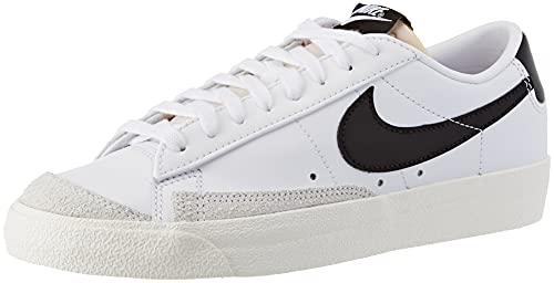 Nike Blazer Low '77, Chaussure de Basketball Femme, White Black Sail White, 38 EU prix et achat