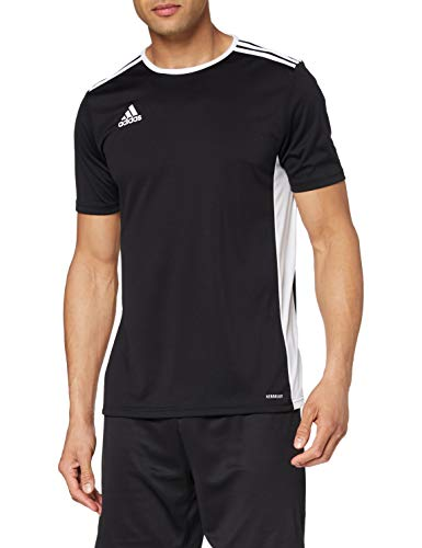 adidas Entrada 18 Jersey Maillot Homme Black/White FR: S (Taille Fabricant: S)