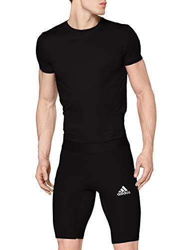 adidas Alphaskin Short Tight Collant Homme Black FR: L (Taille Fabricant: L)