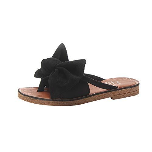 ZEELIY Femmes Sandales Ete Chaussures,Femme Claquettes Plates Sandales Tongs Chaussures de...