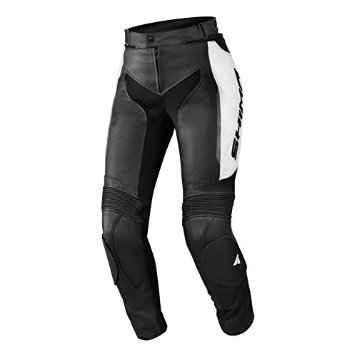 SHIMA Pantalon de moto Fukushima Miura - Pour femme - En cuir - Noir