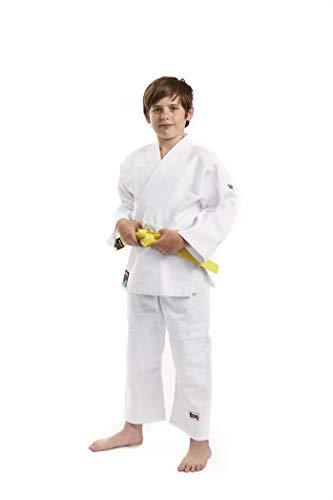 Ippon Gear Future Kimono Judo Unisex-Youth, Blanc, 110