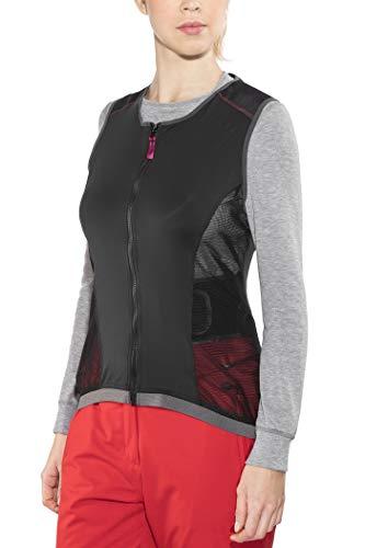Alpina Veste Jsp 3.0 pour Femme avec Protection Dorsale L Noir/Violet