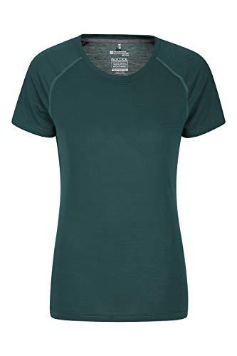 Mountain Warehouse T-Shirt IsoCool Technique pour Femmes - col Rond, Manches Courtes, Respirant...