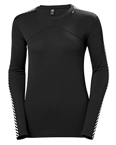 Helly Hansen W HH LIFA Crew – T-shirt respirant et isolant pour femme – Vêtement thermique...