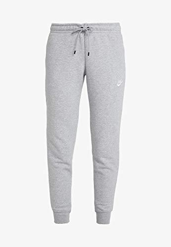 Nike Sportswear Club Fleece Pantalon De Jogging Garçon, Carbone Heather/Blanc, XS