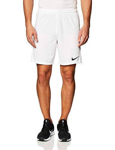 Nike Park 3 Shorts Homme, Blanc/Noir, M prix et achat