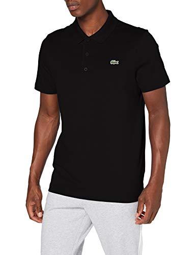 Lacoste Sport Polo, Homme, DH2881, Noir/Noir, S