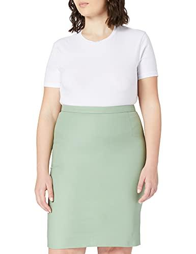 Noa Essential Stretch, Skirt,Knee Length Jupe, Basil, 48 Femme prix et achat