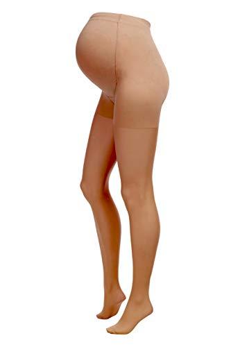 Herzmutter 20D Collant Maternité - Collant de Grossesse - Collants pour Femmes Enceintes - transparents-mat - beige-peau - 1200 (L-XL, Beige-Foncé) prix et achat