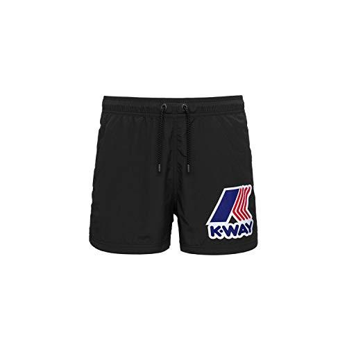 K-Way K61134W Maillots de Bain Shorts de mer Homme Noir 3XL