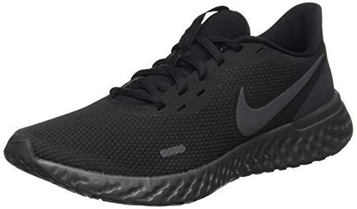 Nike Revolution 5, Road Running Shoe Homme, Noir, 43 EU