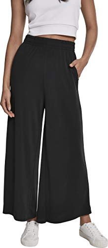 Urban Classics Ladies Modal Culotte Pantalon, Noir (Black 00007), 46 (Taille Fabricant:...
