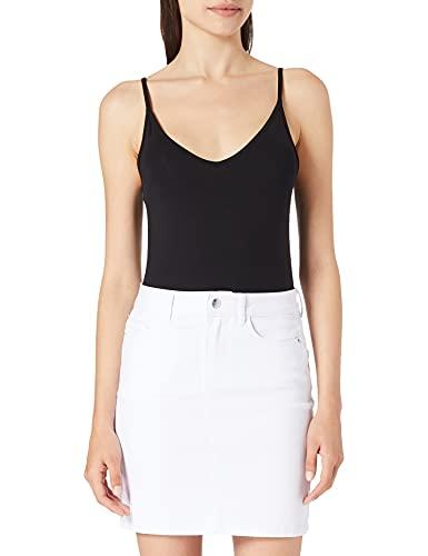 Vero Moda Vmhot Seven Mr S Skirt DNM Mix GA Noos Jupe, Blanc éclatant, M Femme prix et achat