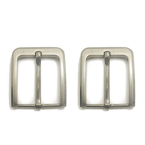 inherited 2pcs Carrée de Boucle de Ceinture, Boucle de ceinture, Simple de Griffe Pour le Remplacement Convient pour ceintures jusqu'à 38-40mm