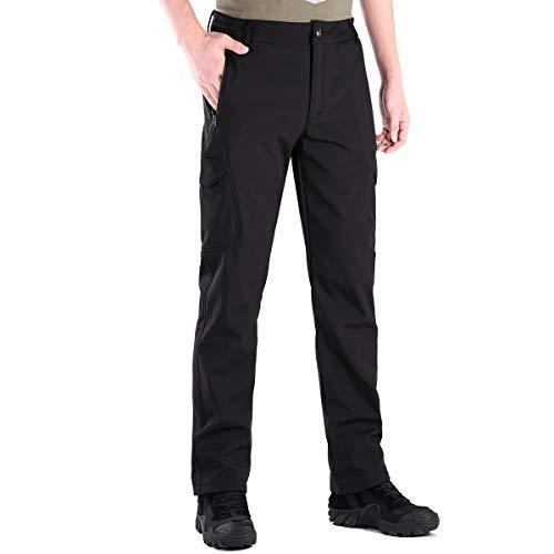 FREE SOLDIER Pantalon Ski Homme Pantalon de Randonnée Chaud d'hiver Pantalon de Chasse...