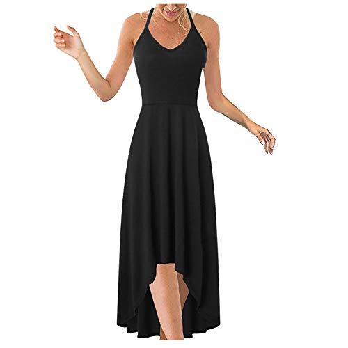Robe Femme Sexy,ITISME Robe Femme Ete 2021 Chic Mode Rétro Décontractée sans Manches Impression Fronde Plage Mini Robe Femme Grande Taille prix et achat