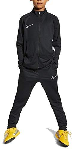 Nike B NK Dry ACDMY TRK Suit K2 Survêtement Garçon, Black/White/(White), FR : S (Taille...