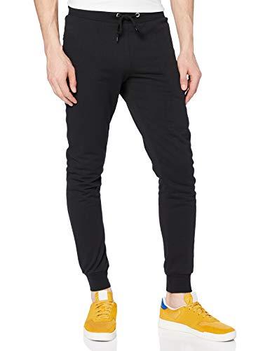 FM London Hyfresh Slim Fit, Pantalon de sport Pantalon de sport Homme, Noir (Black 01), Medium