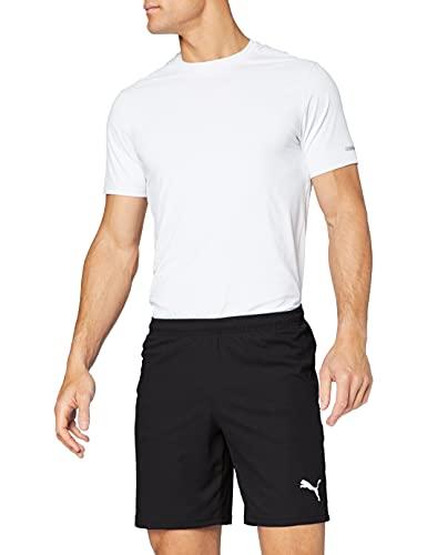 PUMA Liga Core - Shorts - Homme - Noir (Puma Black-Puma White) - L