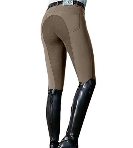 Minetom Pantalon D'Équitation pour Femmes Taille Haute pour Les Cavaliers Skinny Pantalon De...