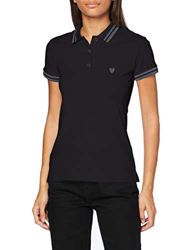 Teddy Smith 31315063D T-Shirt, Noir, Medium Femme