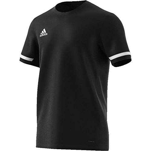 adidas Team 19 Maillot Homme, Noir/Blanc, XXL