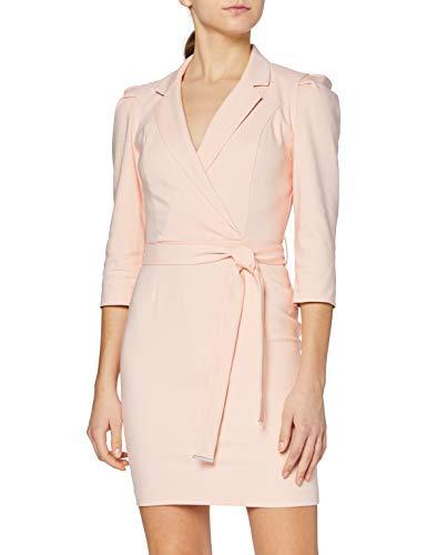 Morgan Robe Cache cœur RAOLI Casual Dress, Nude, T44 Womens prix et achat