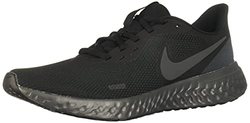 Nike Revolution 5, Sneaker Basse Homme, Noir, 44 EU