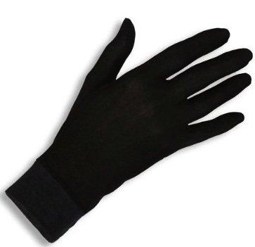 Jasmine Silk Gants Thermiques en Soie 100% Pure à Doublure Intérieure pour Cyclistes, Skieurs, Marcheurs, Pêcheurs, Jardiniers et Autres Activités en Plein Air. (Medium, Moyennes)