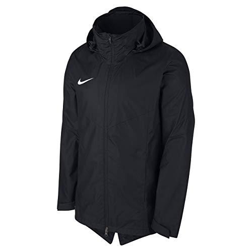 Nike 893819 Veste Coupe-Vent - Mixte Enfant - Noir (Blanc) - S (128-137 cm)