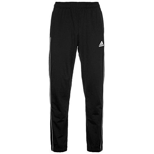 adidas Core 18 Pantalon de randonnée Homme, Noir/Blanc, L