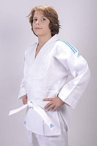Adidas Evolution II - Uniforme de judo - Mixte Enfant - Blanc (Brilliant white) - 100/110