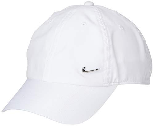 Nike U NSW H86 CAP NK METAL SWOOSH WHITE/METALLIC SILVER 1size