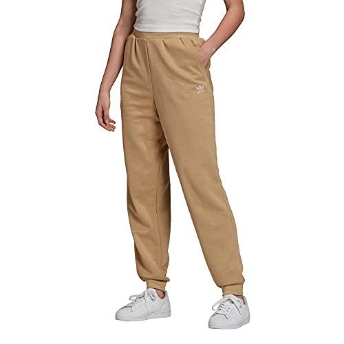 adidas Cuffed Pant Pantalon de survêtement, Kaki Lino, 36 Femme