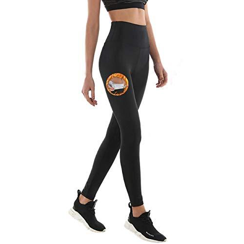 NHEIMA Pantalon de Sudation, Legging de Sport Femme Fitness à Taille Haute - Legging Anti...