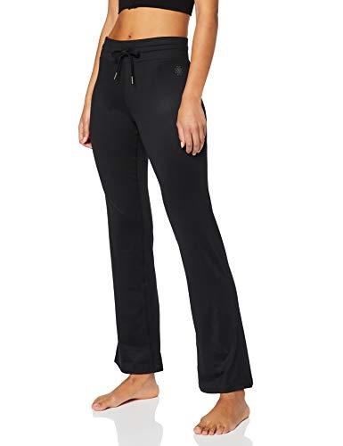 Marque Amazon - AURIQUE Pantalon de Yoga Femme, Noir (Black), 36, Label:XS