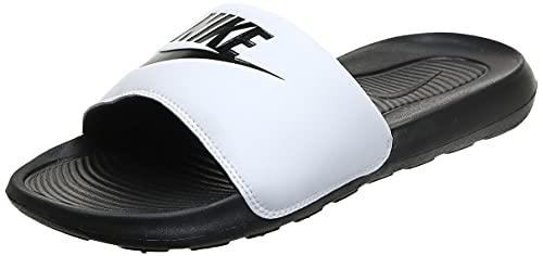 Nike Victori One Slide, Basket Homme, Black/Black-White, 41 EU