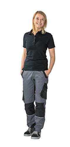Planam NODAHOSC038 Norit Pantalon pour Femme Ardoise/Noir Taille 38