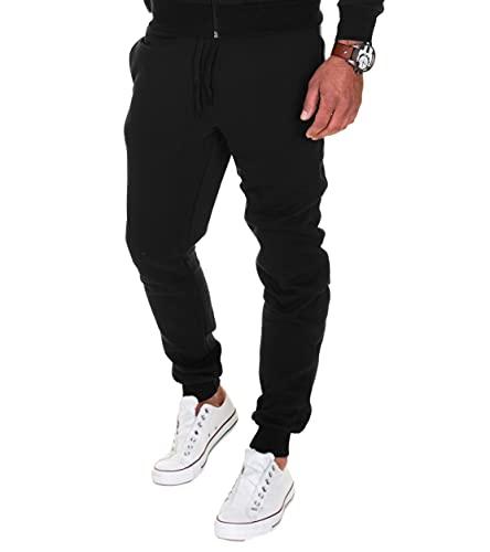 Merish Pantalons de Sport pour Homme Pantalons pour Les Loisirs, Les Sports et la Maison Modell 211 Noir M