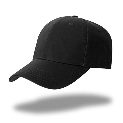 Gwhole Unisexe Casquette Noir - Réglable