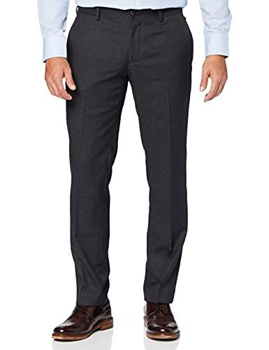 ESPRIT - 037EO2B016 - Premium Collection - Pantalon de Costume - Homme - Noir (Black 001) - FR: 48 (Taille Fabricant: 46)