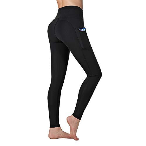 Vimbloom Leggings de Sport Femmes Pantalon de Yoga avec Poches Yoga Fitness Gym Taille Haute...