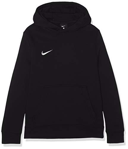 Nike Y HOODIE PO FLC TM CLUB19 Sweat-shirt Mixte Enfant Noir/Blanc FR (Taille Fabricant : XS)