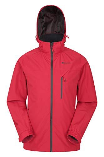 Mountain Warehouse Veste Trail imperméable pour Homme - Respirante, Coutures étanches,...