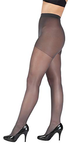Giulia Collants 20 40 DEN pour femme Grande taille - Gris - X-Large