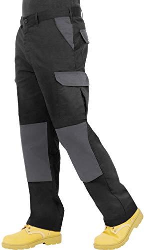 ProLuxe Pantalon de Travail Cargo Combat Endurance pour Hommes avec Poches genouillères et...