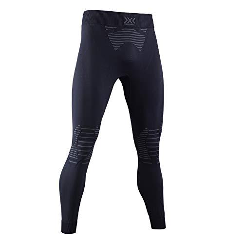 X-BIONIC Invent 4.0 Pants Men Pantalon de Compression Collant de Sport Homme Black/Charcoal FR : M (Taille Fabricant : M)