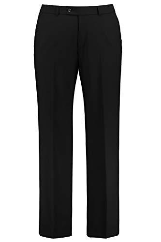JP 1880 Homme Grandes Tailles Pantalon de Costume Coupe Droite ZEUS Noir 64 705516 10-64